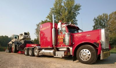 ALL Crane Truck and Trailer