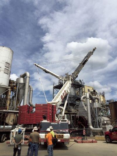 GMK7550, a 550-ton capacity all-terrain crane