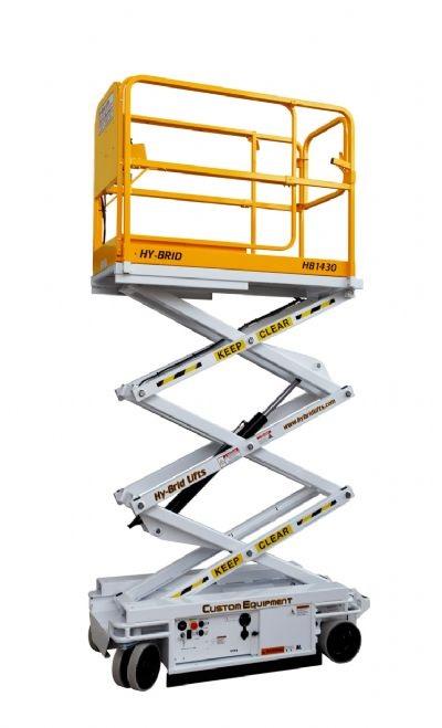Custom Equipment's Hy-Brid Lift