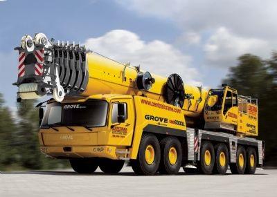 Grove GMK6300L, a 350-USt, telescopic all-terrain crane