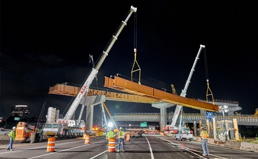 I-285/SR 400 interchange gets a remake with an assist from the ALL Family of Companies on critical lifts