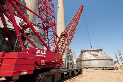 Crawler Crane at 2,600-MW coal-fired power plant in Indiana