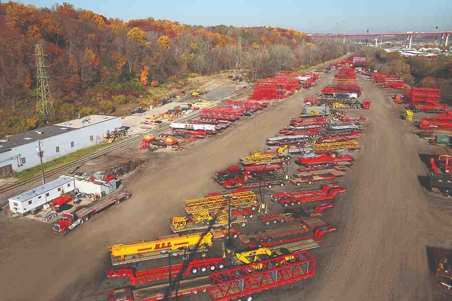 crane yard